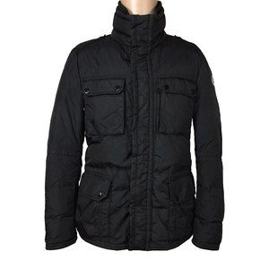 Moncler Mens Amazonne Down Military Field Jacket